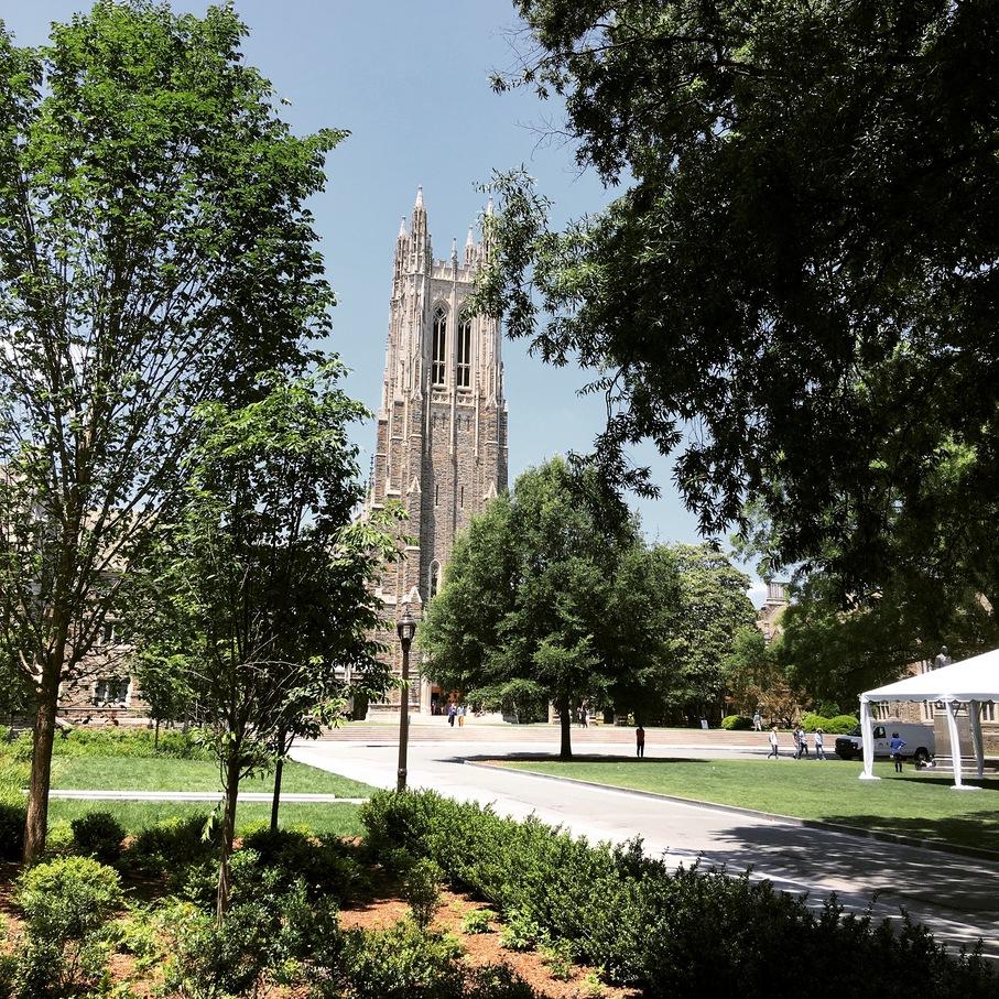 The iconic Duke Chapel